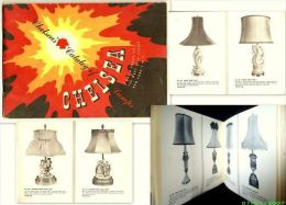 CHELSEA'S CATALOG OF LAMPS Catalogue Lampe Lamp Luminaire Design 1949-1950 Rare ! - Livres, BD, Revues