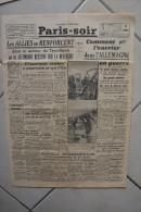 PARIS-SOIR -27 avril 1940-comment vit ouvrier allemand-allies renforcent secteur Tronhjem