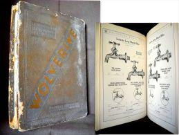 "Catalogue Catalog ""WOLVERINE"" Plumbing Plomberie Plombier Robinet USA Etats Unis 1930 !!! - Ingénierie"