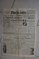 PARIS-SOIR -29 avril 1940-tenus echec a Dombas allemands detachent vers Trondhjem elements motorises