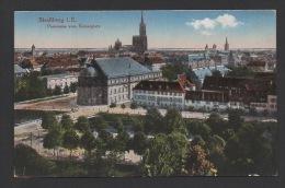 DF / 67 BAS RHIN / STRASBOURG / LE PANORAMA DEPUIS LA PLACE DU KAISER ( DE LA REPUBLIQUE ) / CIRCULÉE EN 1918 - Strasbourg