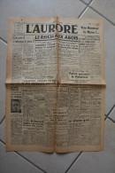 L'AURORE du 16 decembre 1944-reich aux abois