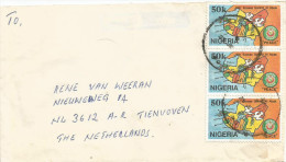 Nigeria 1991 Sahiru ECOWAS Peacekeeping Dove Cover - Nigeria (1961-...)