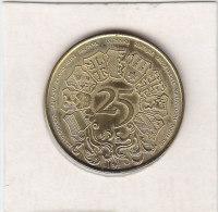 25 WESTVLAANDER 1980 - Gemeentepenningen