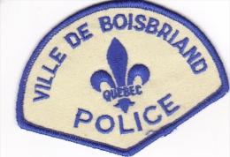 CANADA - Police BOISBRIAND - Police & Gendarmerie