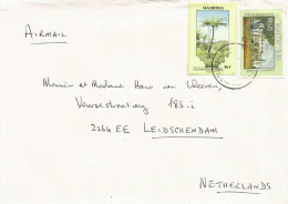 Mauritius Maurice 1990 Port Louis Tree Fern Townhall Cover - Mauritius (1968-...)