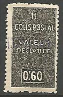 ALGERIE COLIS POST YVERT  N� 55 / MAURY N� 67  NEUF** TTB / MNH