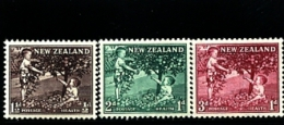 NEW ZEALAND - 1956  APPLES  SET  MINT NH - Nuova Zelanda