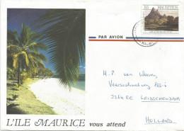 Mauritius Maurice 1989 Port Louis ES Art Architecture Painting Cover - Mauritius (1968-...)