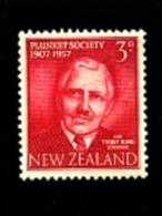 NEW ZEALAND - 1957  PLUNKET SOCIETY  MINT NH - Nuova Zelanda