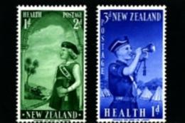 NEW ZEALAND - 1958  GIRLS/BOYS BRIGADE  SET  MINT NH - Nuova Zelanda