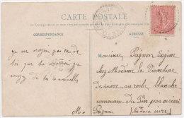 Plus De Célibataires, Faites Votre Choix -- Cachet Perlé De SAINT MARTIN LA RIVIERE (Vienne) Indice 4 (70985) - Bergeret
