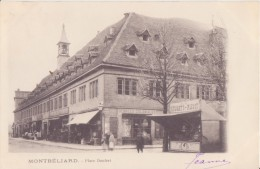 25 MONTBELIARD PLACE DENFERT 1903 CPA BON ÉTAT - Montbéliard