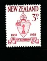 NEW ZEALAND - 1958  NELSON CENTENARY  MINT NH - Nuova Zelanda