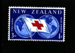 NEW ZEALAND - 1959  RED CROSS  MINT NH - Nuova Zelanda