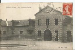 CPA - Nonant Le Pin - Les écuries Du Château - Altri Comuni