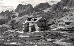 RIFUGIO VAJOLET 1958 - VERSO LE CORONELLE - TIMBRI C.A.I. -  FORMATO PICCOLO - C788 - Trento