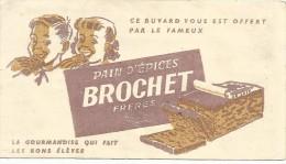 BUVARD PAINS D'EPICES BROCHET Frères - Alimentare