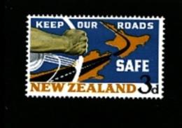 NEW ZEALAND - 1964  ROAD SAFETY  MINT NH - Nuova Zelanda
