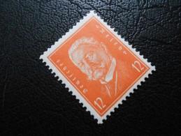 D.R.466  12Pf** - Reichspräsident 1932  Rotorange - Unused Stamps