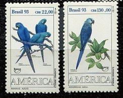 "Brésil ** N° 2136/2137 - ""America-U.P.A.E.P.""Oiseaux - Brésil"