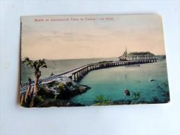 Carte Postale Ancienne : HONDURAS : Muelle En Construccion Punta De Cutuco , LA UNION - Salvador