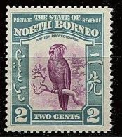 Bornéo Du Nord ** N° 243 - Série Courante. Oiseau : Cacatoès - Nordborneo (...-1963)