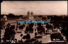 Sao Paulo, Brazil - Seminario Archipiscopal - Real Photo Postcard - São Paulo