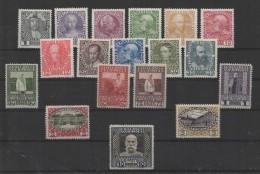 Austria (1908/13) Yv. 101/17  /  Buildings - Royalty - Empire