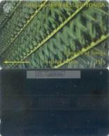 Telefonkarte Tonga - Textures Of Tonga - Green - 185CTGA - Tonga
