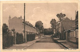 Nord - 59 - CPA WALINCOURT Rue Jean MACE