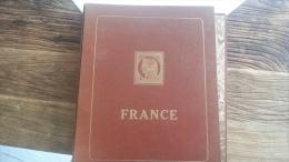 LOT 220295 ALBUM TIMBRE DE FRANCE NEUF**/* OBLITERE FORTE COTE  PORT A 10 EUROS