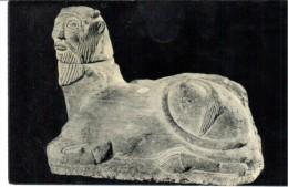 POSTAL   ARTE  IBÉRICO  -LA BICHA DE BALAZOTE  (S. V-IV ANTES DE J.C.) MUSEO ARQUEOLÓGICO NACIONAL  -MADRID - Museos