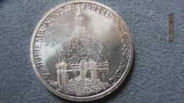 """Sondermünze  """"Dresdner Frauenkirche""""   10 D-Mark 1995 In Silber - [ 7] 1949-…: BRD"""