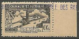 ALGERIE COLIS POST YVERT  N� 83 / MAURY N� 97 NEUF** TTB / MNH