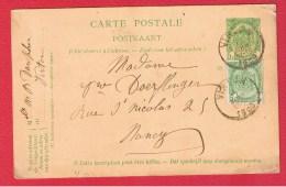 BELGIQUE  //   Carte Postale  //  De Virlon  //   Pour Nancy    //  16/08/1909 - Cartoline [1871-09]