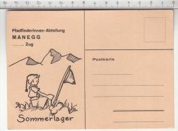 Pfadfinderinnen-Abteilung Manegg - Zug - Sommerlager - Scoutisme