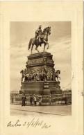Berlin, Denkmal Friedrich Des Grossen - 2 Scans - Mitte