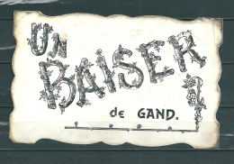 GAND: Un Baiser,  Gelopen Postkaart 1907 (GA14678) - Gent