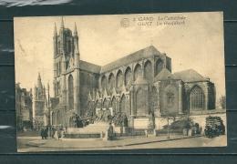 GAND: Le Cathédrale,  Gelopen Postkaart 1924 (GA14691) - Gent