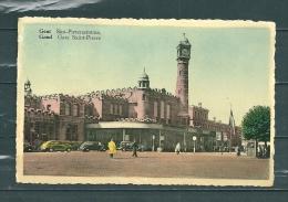 GAND: Sint Pieterstation,  Gelopen Postkaart 1951 (GA14711) - Gent