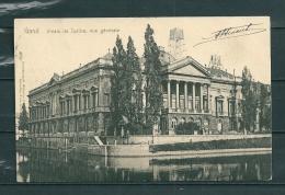 GAND: Palais De Justice Vue Générale,  Gelopen Postkaart 1904 (GA14721) - Gent
