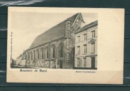 GAND: Musée D'Archéologie, Niet Gelopen Postkaart (GA14731) - Gent