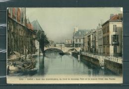 GAND: Quai Des Dominicains,  Gelopen Postkaart 1909 (GA14781) - Gent