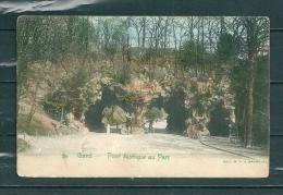 GAND: Pont Rustique Au Parc,  Gelopen Postkaart 1906 (GA14804) - Gent