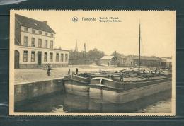 TERMONDE: Quai De L'Escaut,  Niet Gelopen Postkaart  (GA14855) - Dendermonde