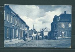BERCHEM: Rue De La Station,  Gelopen Postkaart 1908 (GA14964) - Other