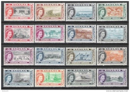 Bahamas 1954 Definitives MNH CV £89 - 1859-1963 Crown Colony