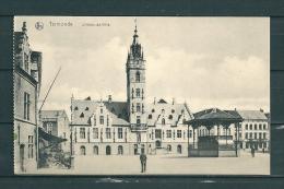 TERMONDE: L'Hotel De Ville, Niet Gelopen Postkaart  (GA15007) - Dendermonde