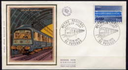 FDC 1804 - METRO REGIONAL - 1970-1979